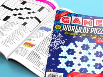 Games World of Puzzles December 2016