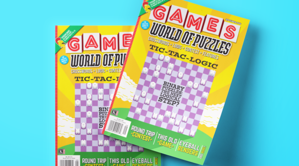 Games World of Puzzles September 2016