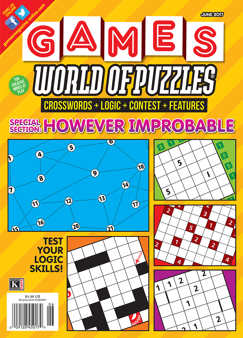 Games World of Puzzles June 2017