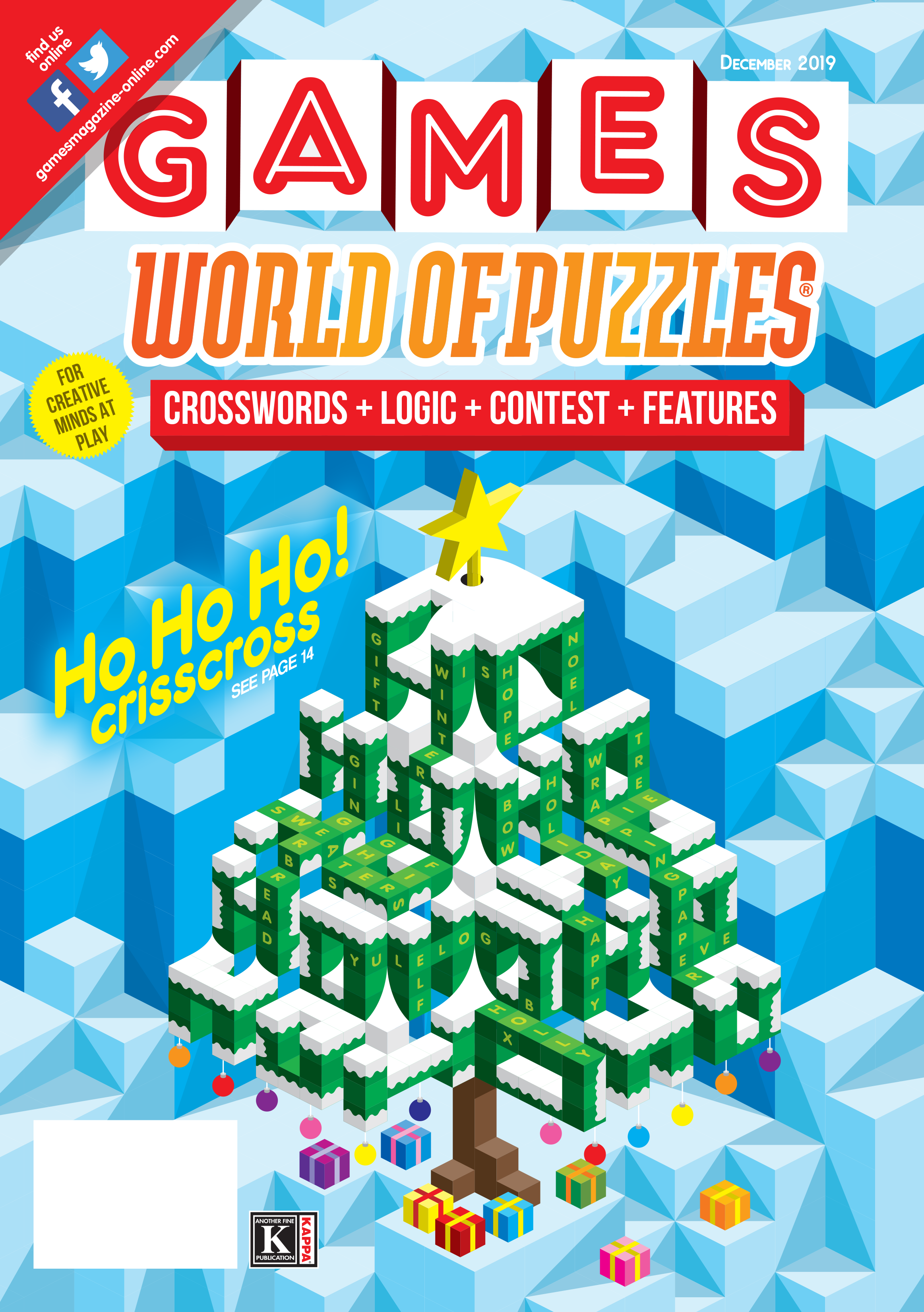 Blue Green Online >> Games World Of Puzzles December 2019